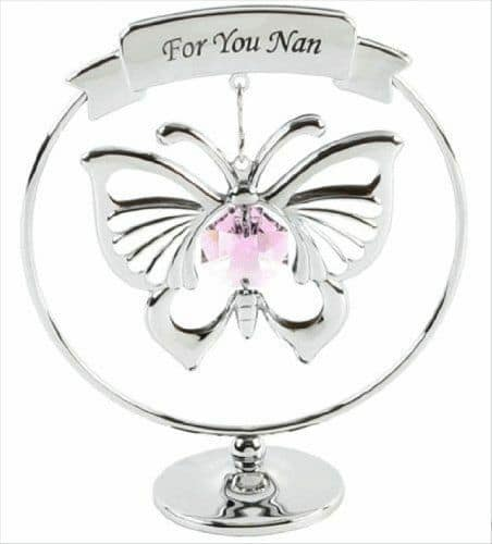 "CRYSTOCRAFT CRYSTAL "" NAN "" GIFT"