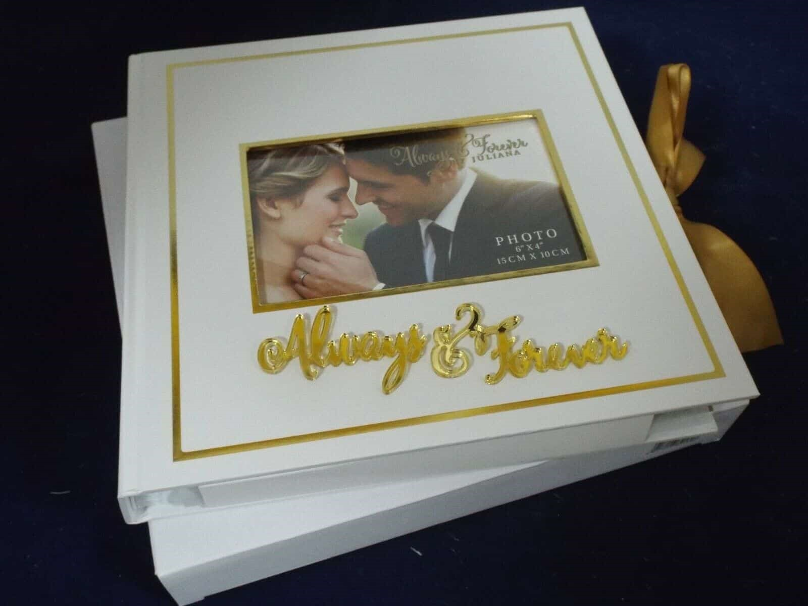 Always & Forever Wedding Scrap Book/Photo Album