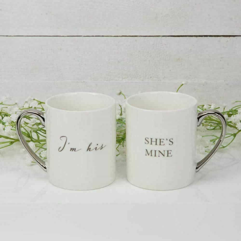 Amore Wedding Collection I 'm His … She's Mine (Pair Of Mugs)