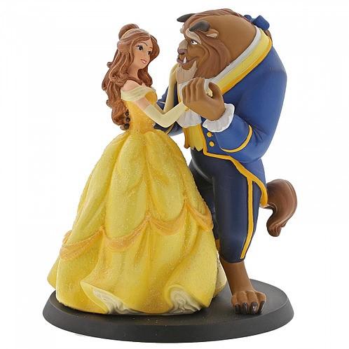 Beauty & Beast Wedding Cake Topper