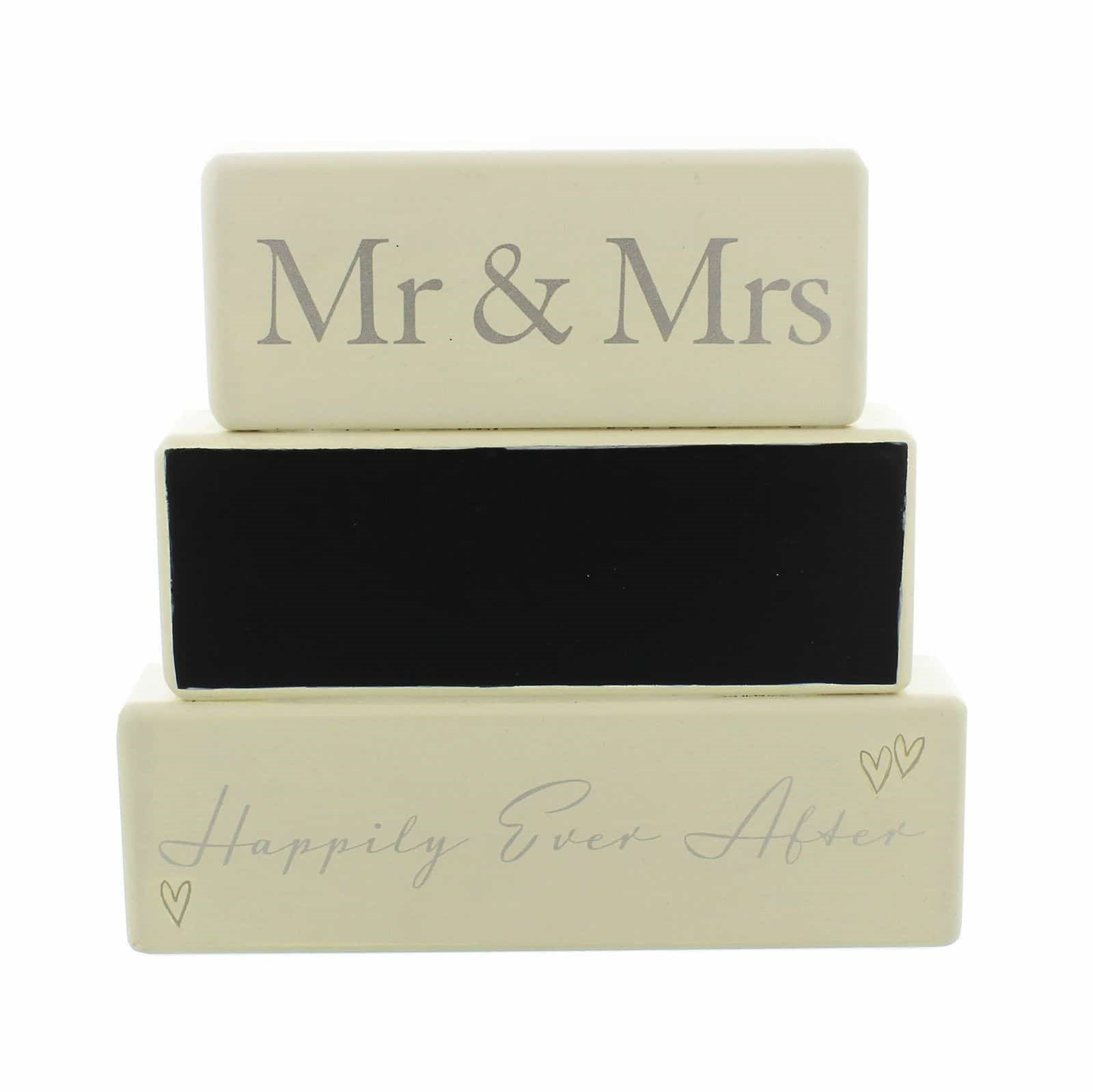 Mr & Mrs Amore Mantel Block