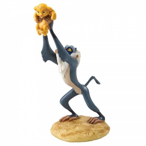A King is Born (Rafiki & Simba Figurine)