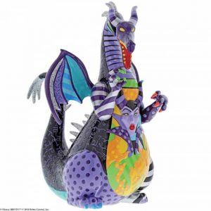 Britto Maleficent Dragon Figurine