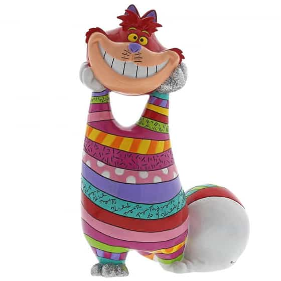 Britto Cheshire Cat Statement Figurine