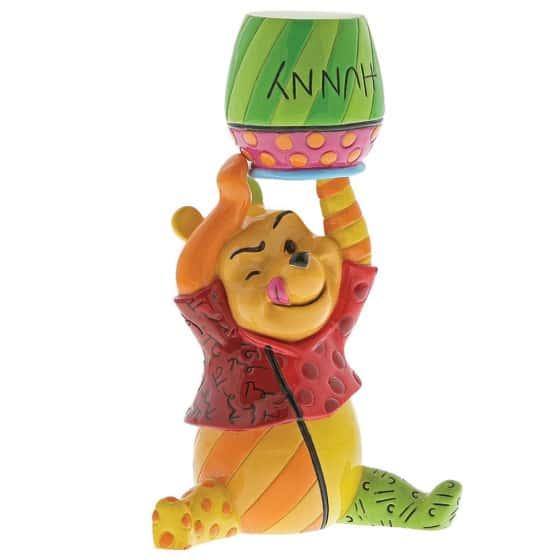 Britto Winnie the Pooh and Honey Mini Figurine