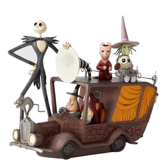 Nightmare before christmas (Nightmare Mayors Car)