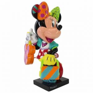 Britto Minnie Mouse Fashionista Figurine