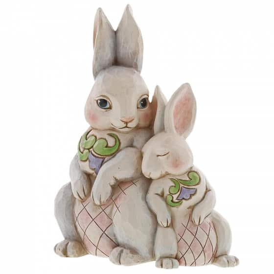Jim Shore Forever My Honey Bunny (Double Bunnies Figurine)