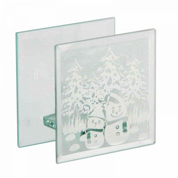 Christmas Snowman T-lite Holder