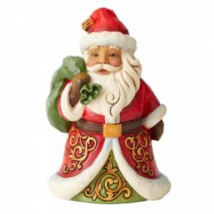 Heartwood Creek Christmas Santa Be True and Believe Mini Figurine