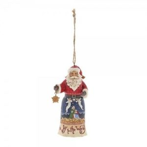 Jim Shore Santa figurine