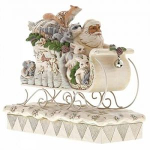 Heartwood Creek White Woodland Sleigh Ride