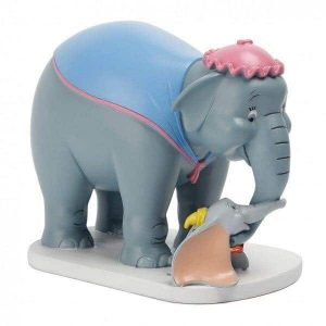DISNEY MAGICAL MOMENTS - JUMBO & DUMBO FIGURINE