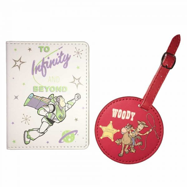 TOY STORY 4 LUGGAGE TAG & PASSPORT COVER
