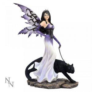 Panthea Purple Fairy with Panther 29cm