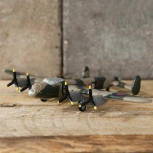 RAF LANCASTER BOMBER FIGURINE