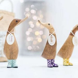 DCUK The Duck Company Wooden Spotted Duck Duckling