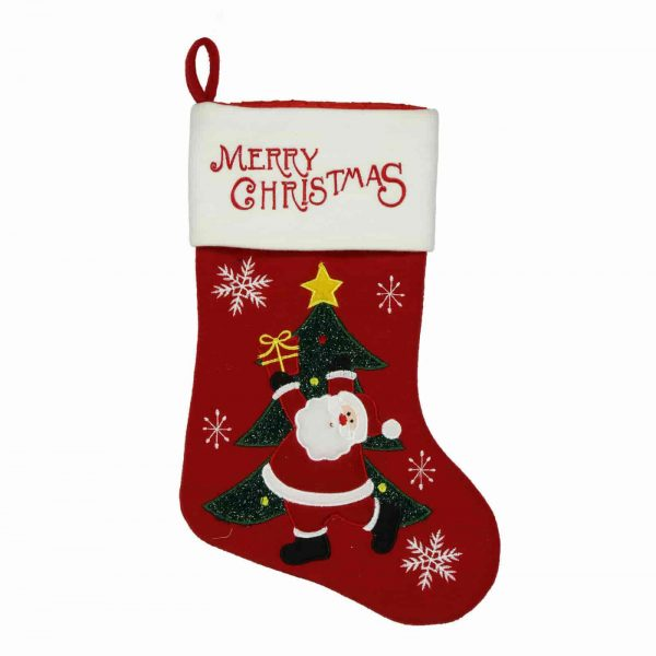 Children's Christmas Red Stocking