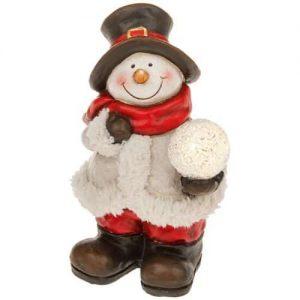 Shudehill Snowman LED Christmas Figurine