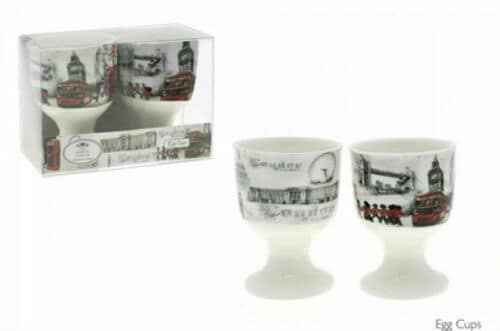 LONDON SCENE EGG CUPS