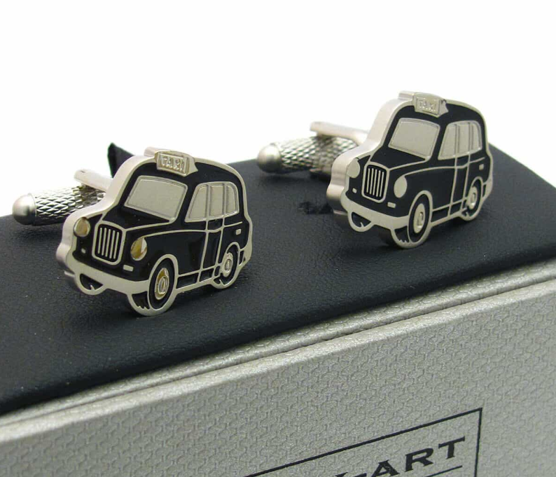 London Black Cab Cufflinks