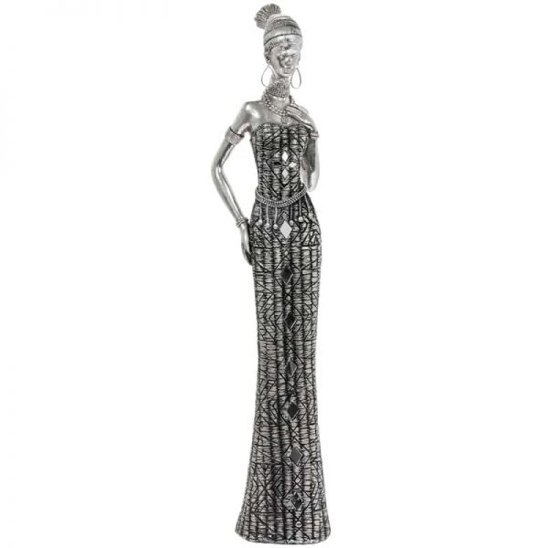 Masai African Lady 42cm Figurine
