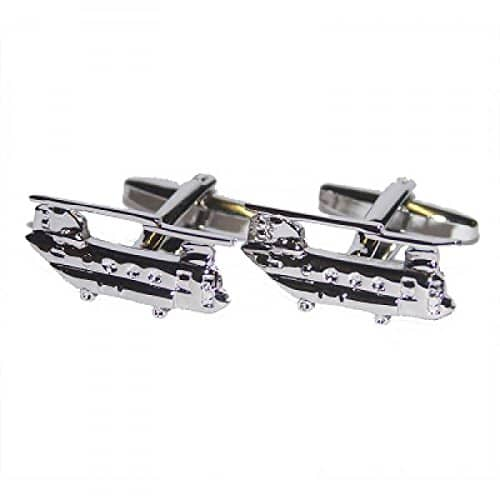 Chinook Helicopter Cufflinks