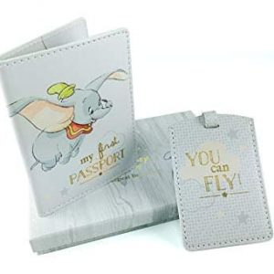 DISNEY MAGICAL BEGINNINGS DUMBO PASSPORT COVER
