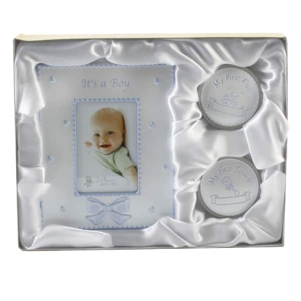 My First Tooth Curl Frame Gift Set