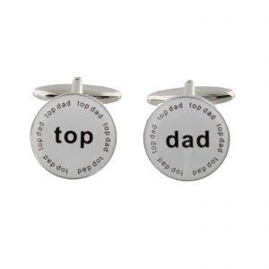 Harvey Makin TOP DAD Cufflinks