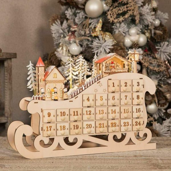 Light Up Christmas Village Advent Calendar