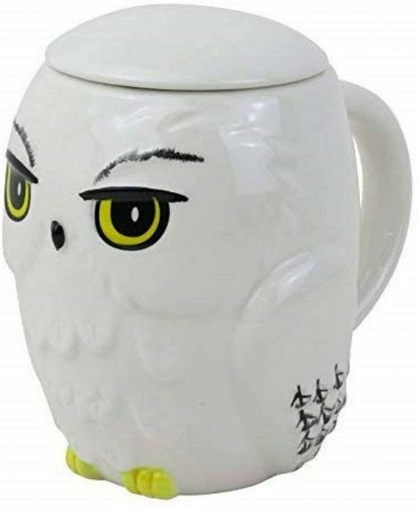 Harry Potter Hedwig mug with lid