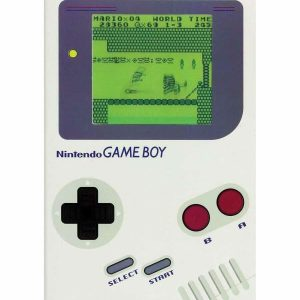 Retro Nintendo Game Boy Notepad