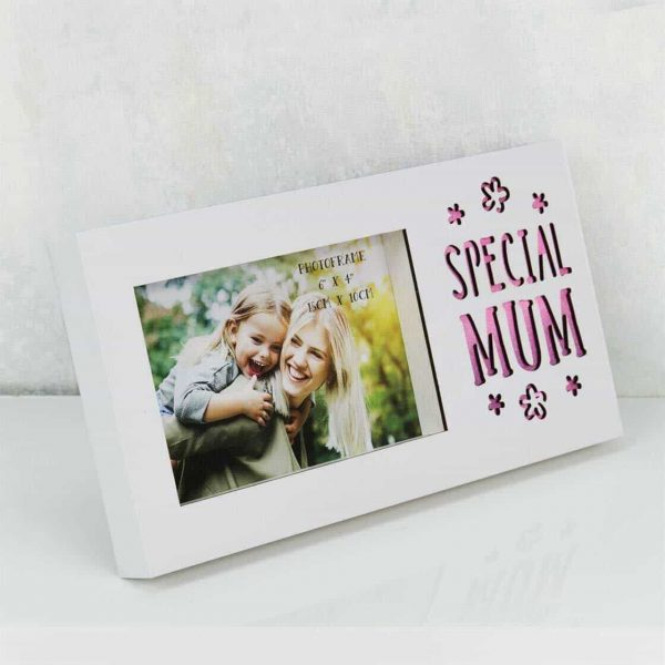 """Celebrations Special MUM Light Up Photo Frame Mother's Day Gift Box 6 x 4"""""""