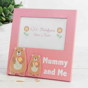"Mummy And Me Bear 6 x 4"" Photo Frame"