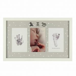 Baby Gift Hand Foot Print Photo Frame