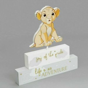 Disney Magical Beginnings Simba Mantel Block
