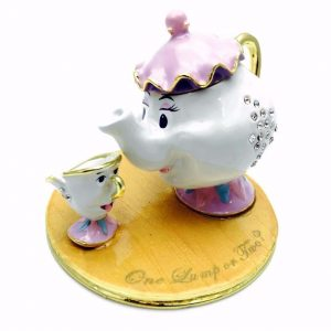 DISNEY CLASSIC TRINKET BOX - MRS POTTS AND CHIP