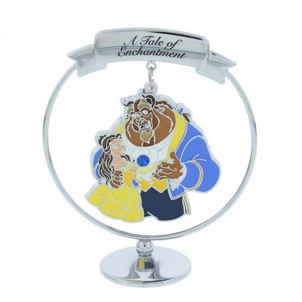 Disney Chrome Plated Beauty and The Beast