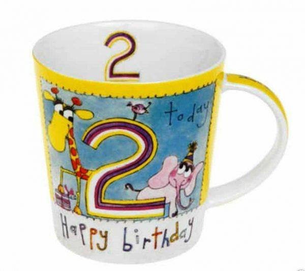 Children's Animal 2nd Birthday Mug