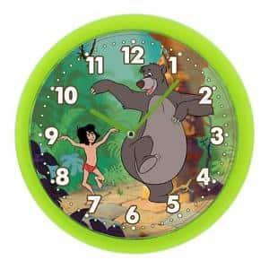 Disney Jungle Book Mowgli & Baloo Wall Clock