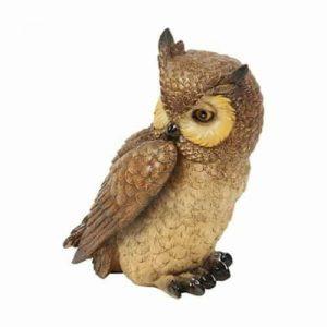 NATURECRAFT OWL FIGURINE
