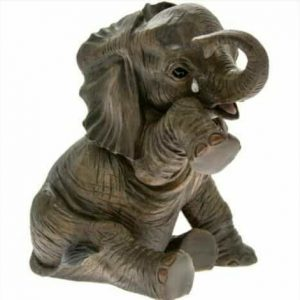Out of Africa Collection BABY ELEPHANT figurine