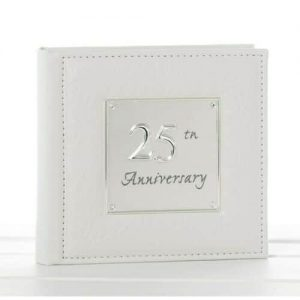 Silver Wedding Anniversary Photo Album