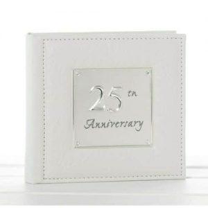Silver Wedding Anniversary Photo Album
