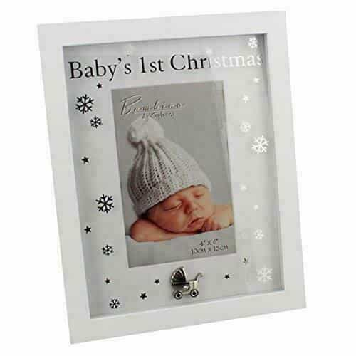 "Bambino Baby's 1st Christmas 4 x 6"" Photo Frame"