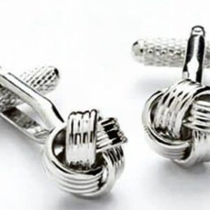 Knot Cufflinks by Onyx Art