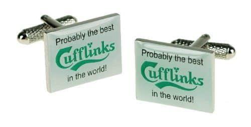 Carlsberg Cufflinks By Onyx Art
