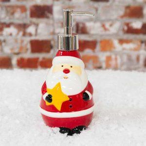 Christmas Santa Bathroom Soap Dispenser