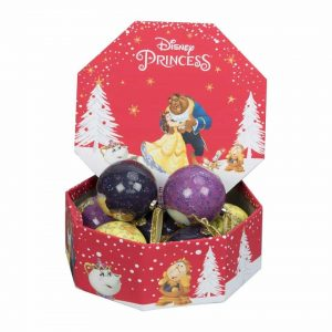 Beauty and the Beast Christmas Baubles